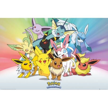 Pokemon poster 61x91 eve