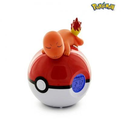 Pokemon salameche pokeball reveil avec lampe led