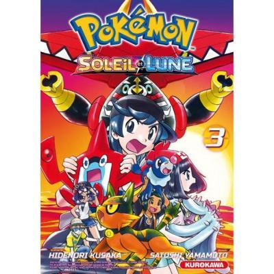 Pokemon soleil et lune tome 3