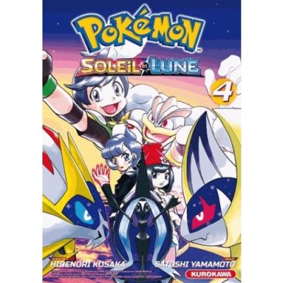 Pokemon soleil et lune tome 4