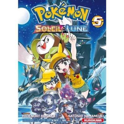 Pokemon soleil et lune tome 5