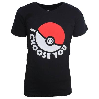 Pokemon t shirt pokeball kids