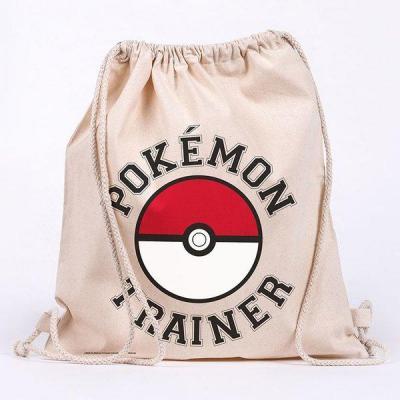Pokemon trainer sac en toile 100 coton 42x37cm