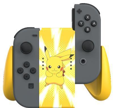 Power a joy con comfort grip pikachu for nintendo switch
