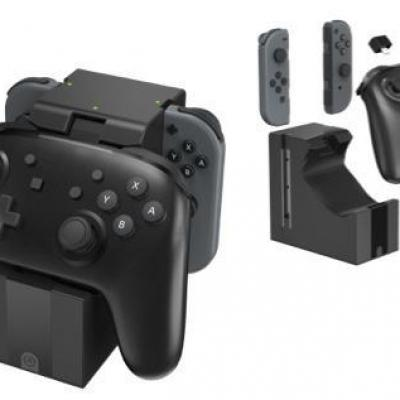 Power a joy con pro controller charging dock for nintendo switch