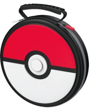 Power a pokemon carrying case poke ball for nintendo switch