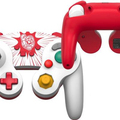 Power a wired controller gamecube style mario for nintendo switch