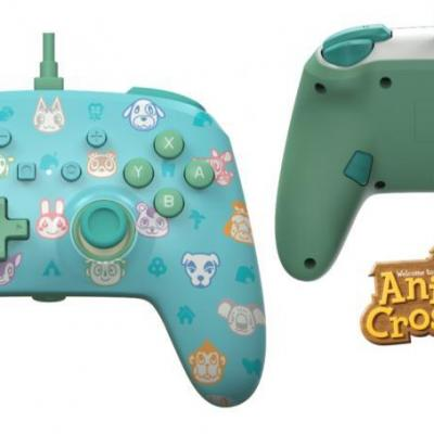 Power a wired enhanced controller animal crossing for nintendoswitch