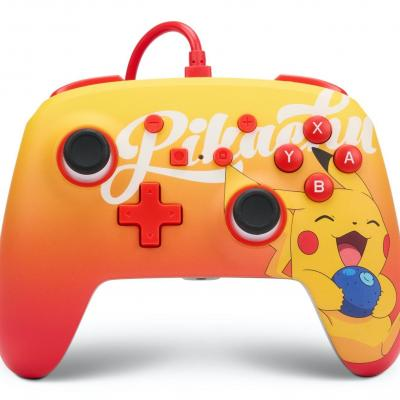 Power a wired enhanced controller berry happy pikachu pokemon