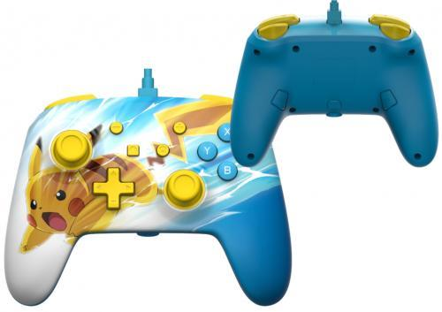 Power a wired enhanced controller pikachu charge for nintendo switch
