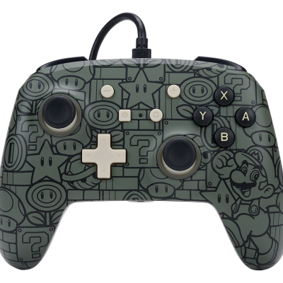 Power a wired enhanced controller power up mario