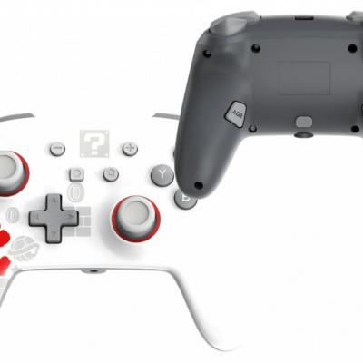 Power a wireless enhanced controller running mario for switch