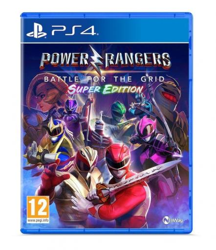 Power rangers battle for the grid super edition 1
