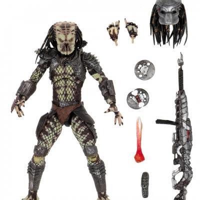 Predator 2 ultimate scout predator figurine articulee 20cm