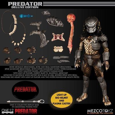 Predator figurine one12 deluxe edition 16cm