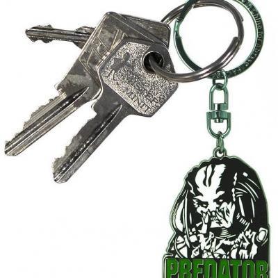 Predator porte cles en metal