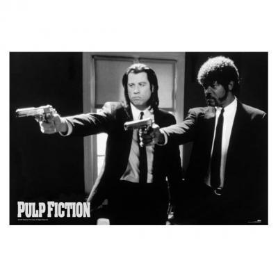 Pulp fiction guns poster 61x91cm 1