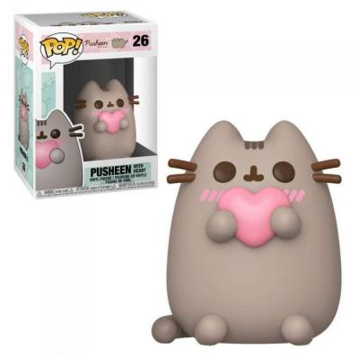 Pusheen bobble head pop n 26 pusheen w heart