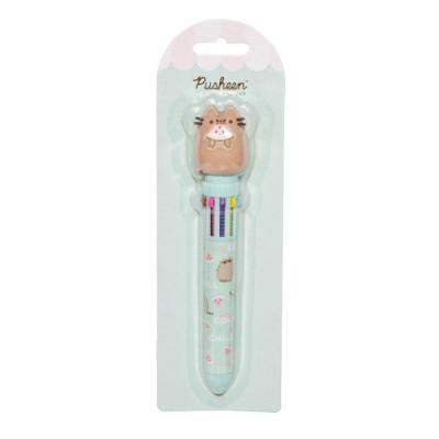 Pusheen foodie collection stylo bille 10 couleurs 3d
