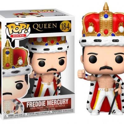 Queen bobble head pop n 184 freddie mercury king