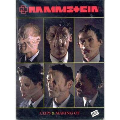 Rammstein clips making of rare dvd occasion