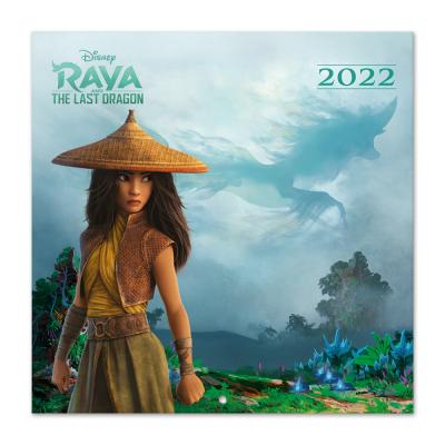 Raya and the last dragon calendrier 2022 30x30cm