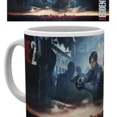 Resident evil 2 city key art mug 315ml