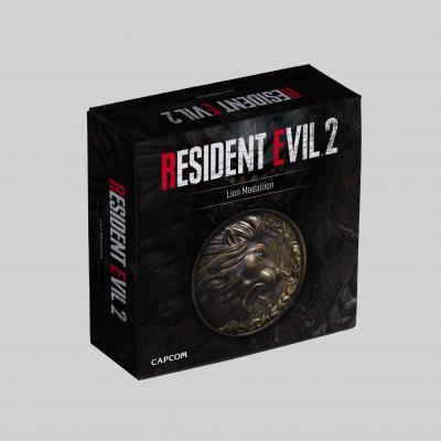Resident evil lion replique medaillon