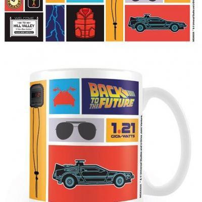 Retour vers le futur collection mug 315ml