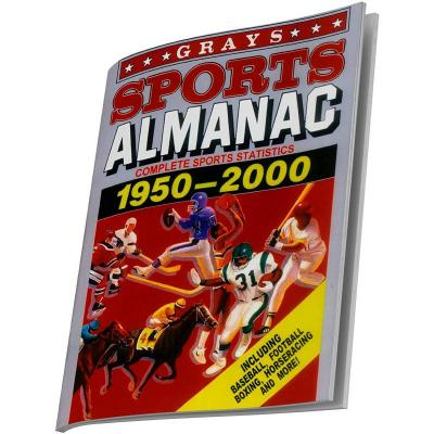 Retour vers le futur grays sports almanac cahier