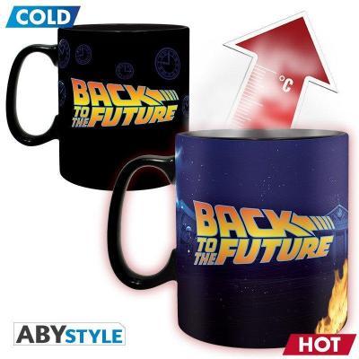 Retour vers le futur time machine mug thermoreactif 460ml
