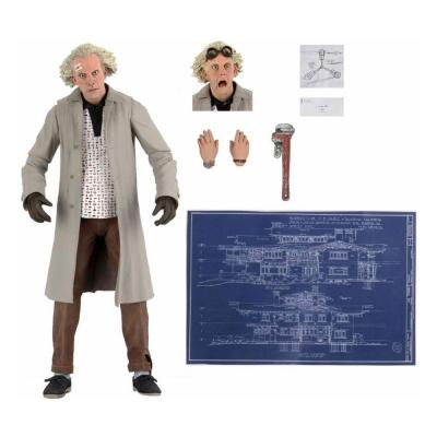 Retour vers le futur ultimate doc brown figurine 18cm