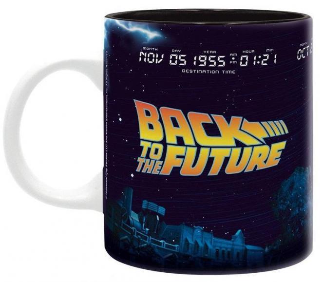 Retours vers le futur delorean mug 320 ml 1