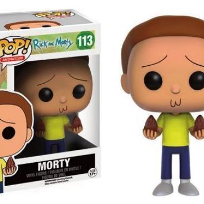 Rick morty bobble head pop n 113 morty