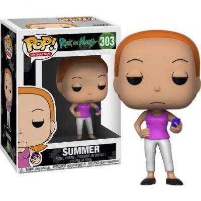 Rick morty bobble head pop n 303 summer