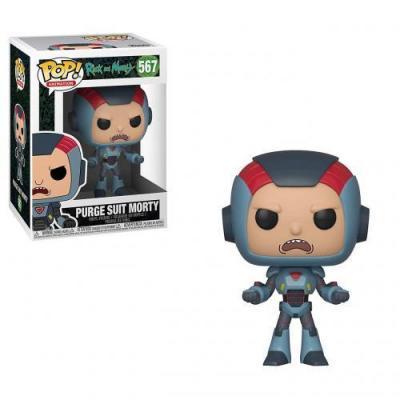 Rick morty bobble head pop n 566 morty in mech suit