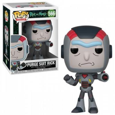 Rick morty bobble head pop n 567 rick in mech suit