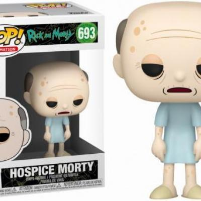 Rick morty bobble head pop n 693 hospice morty