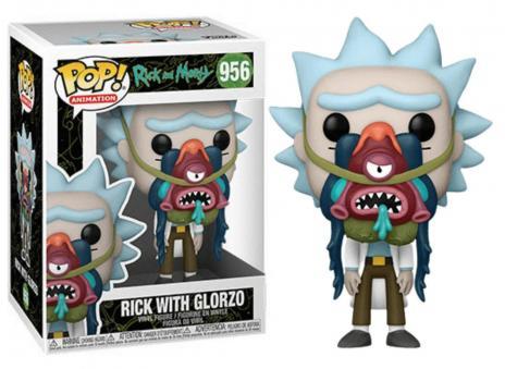 Rick morty bobble head pop n 956 rick w glorzo