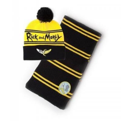 Rick morty bonnet echarpe
