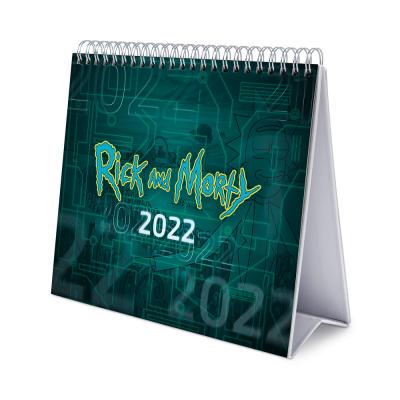 Rick morty calendrier de bureau 2022 17x20cm