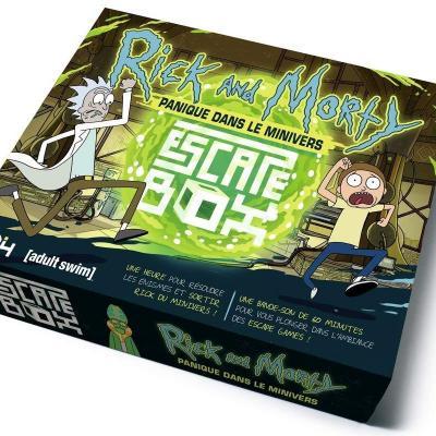 Rick morty escape box