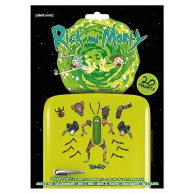 Rick morty magnet set weaponize the pickle 1