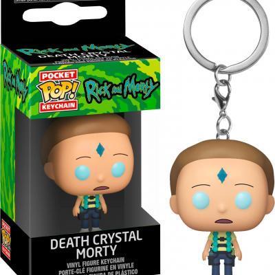 Rick morty pocket pop keychains armed morty 4cm
