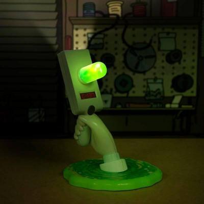 Rick morty portal gun lampe usb