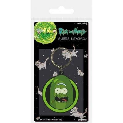 Rick morty porte cles caoutchouc pickle rick