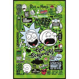 Rick morty poster 61x91 quotes