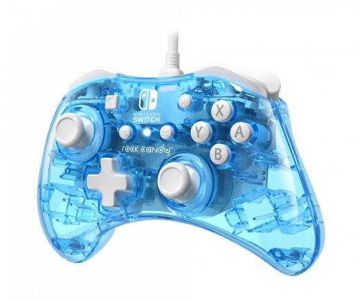 Rock candy official wired mini controller blu merang