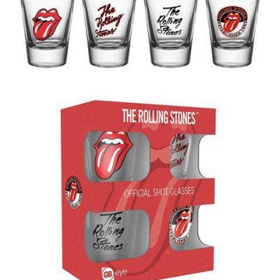 Rolling stones shot glass mix bravado