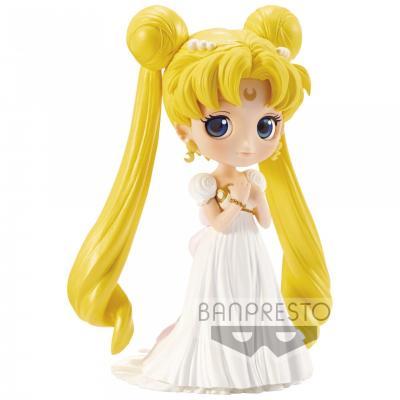Sailor moon figurine q posket princess serenity 14cm reprod